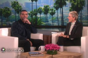 drake ellen show interview
