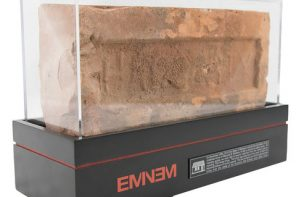 You Can Now Buy a Collectible Brick From Rescued Remains of Eminem's Childhood Detroit Home
