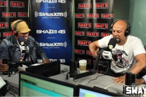Common Freestyle on Sway In The Morning Show