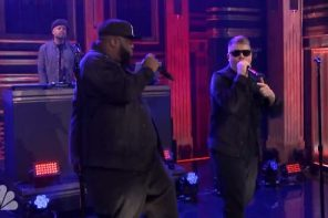 run the jewels perform nobody speak on the tonight show