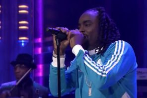 wale jimmy fallon live