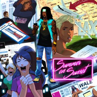 wale summer on sunset