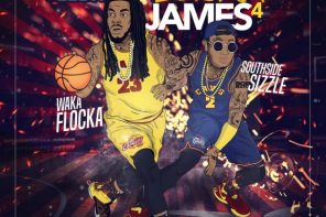 New Mixtape: Waka Flocka Flame – 'LeBron Flocka James 4'