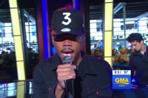 chance the rapper gma