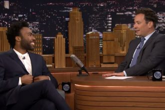 childish gambino jimmy fallon interview