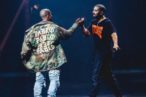 Kanye West & Drake Hint At Joint Album with Billboard in L.A.