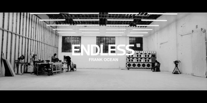 endless frank ocean