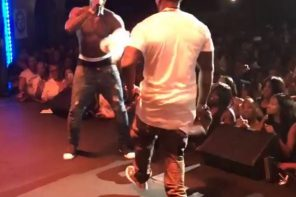 50 Cent & PHresher Debut 'Wait A Minute' Remix in D.C. (Video)