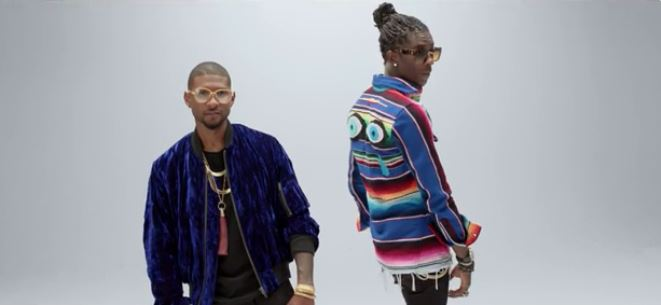 usher no limit video