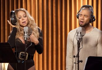 "EMPIRE ""What Remains is Bestial"" Seaon 3, Episode 3 October†5,†2016 Mariah Carey and Jussie Smollett"