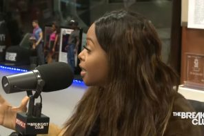 Image result for chrisette michele on the breakfast club 2017