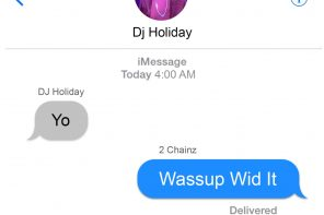 New Music: DJ Holiday – 'Wassup Wid It' (Feat. 2 Chainz)