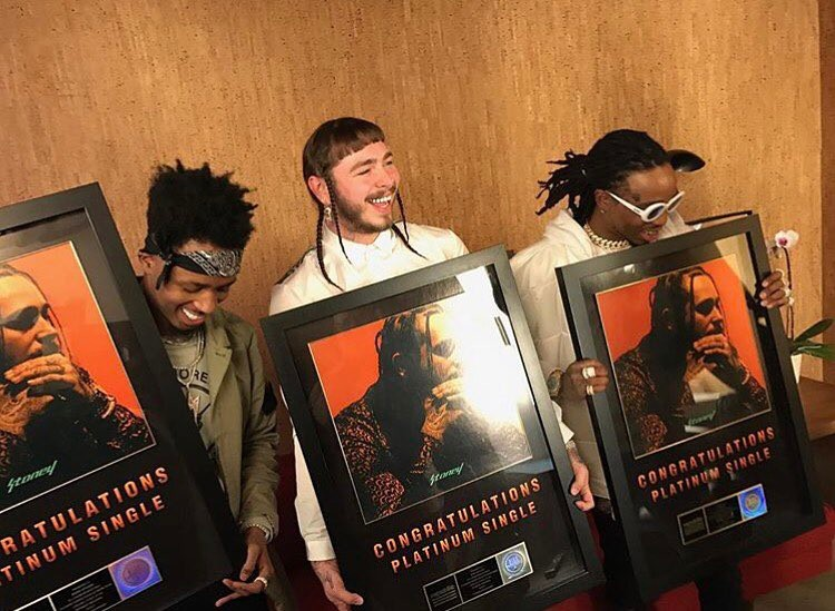 Post Malone's 'Congratulations' Goes Platinum; Shares Artwork for ...
