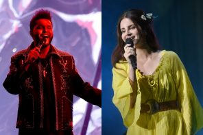 Lana Del Rey Enlists The Weeknd For New Song 'Lust For Life'