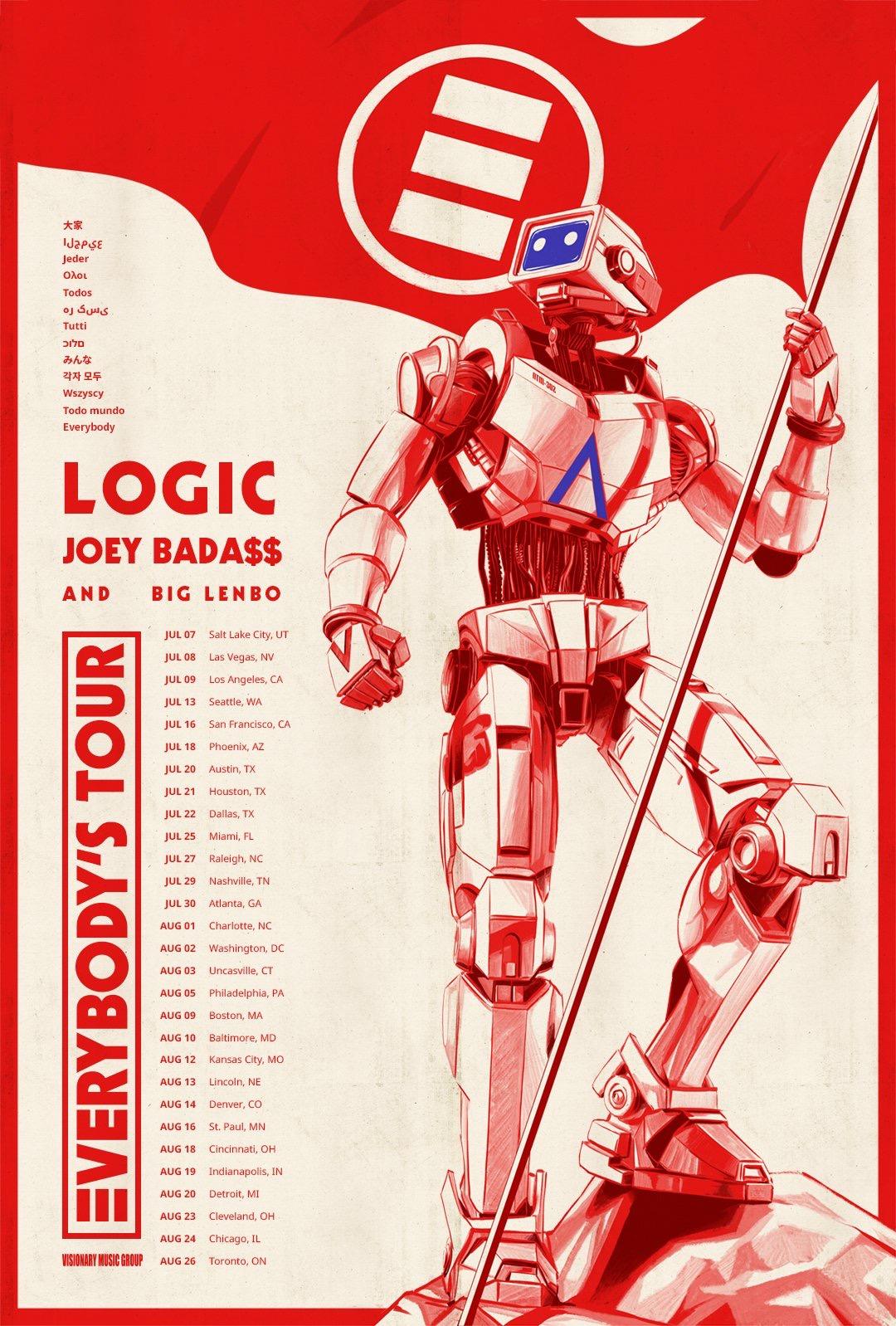 Logic And Joey Badass Tour