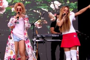 Rita Ora Debuts New Songs 'Girls' & 'Summer Love' at BBC Radio 1 Big Weekend 2017