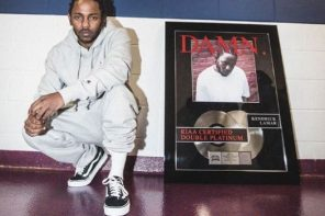 Kendrick Lamar's 'DAMN.' Becomes First Double Platinum Album of 2017