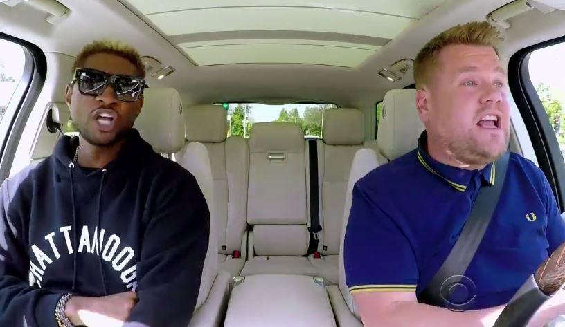 Watch Usher Teach James Corden Club Dance Moves on 'Carpool Karaoke'