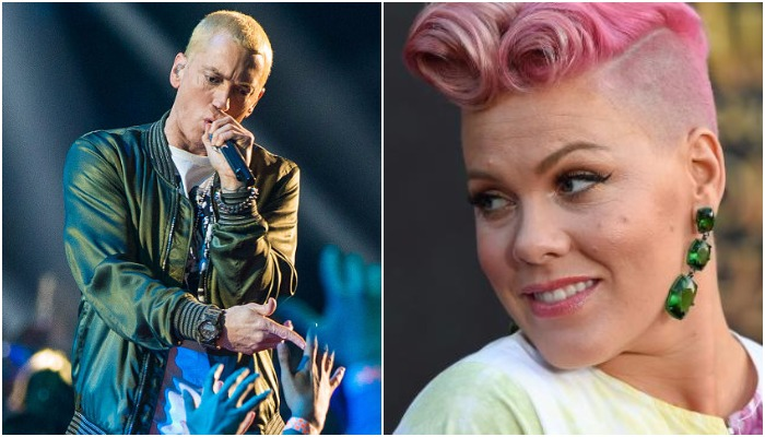 Eminem Responded To Pink's Collaboration Invite With The Ultimate Bro Move