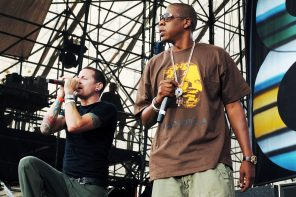 Jay-Z Pays Tribute to Chester Bennington With 'Numb/Encore' at V Fest