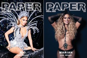 Mariah Carey & J.Lo Cover PAPER Magazine's Las Vegas Issue