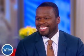 50 Cent Previews New Music on 'The View'