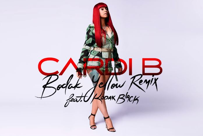 Cardi B Recruits Kodak Black for 'Bodak Yellow' Remix