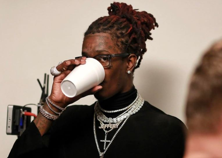 Young Thug arrested for drug possession, tinted windshield