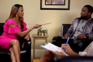 Watch 50 Cent & Vivica Fox 'Couples Therapy' Skit on BET 50 Central Show