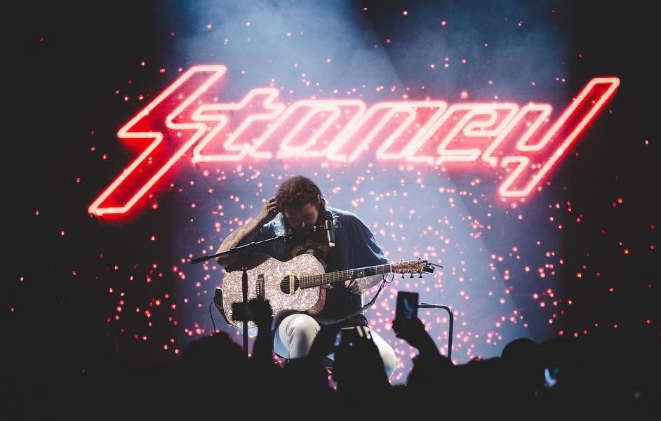 Post Malone's 'Stoney' Achieves Peak Top 3 Position on