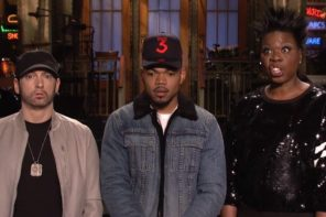 Watch Eminem & Chance The Rapper 'SNL' Promo