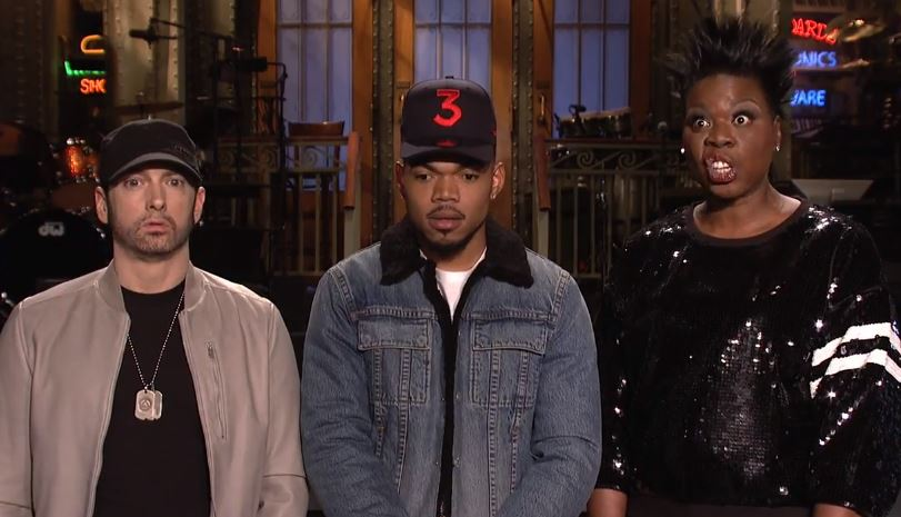 Chance the Rapper & Eminem Team Up in 'SNL' Promos