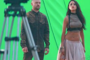 Justin Timberlake Shoots New Music Video with Mexican Actress Eiza Gonzalez in L.A.