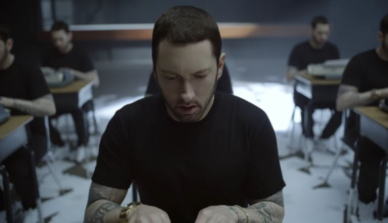 Eminem Drops 'Walk on Water' Video