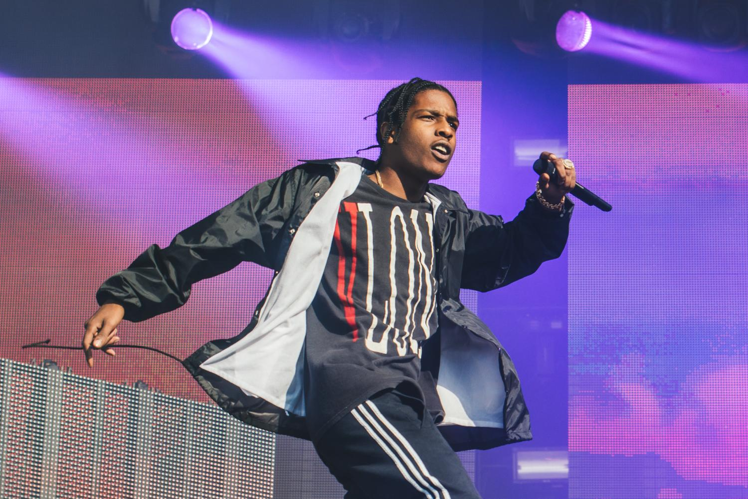 A$AP Rocky Delivers DRAM-Assisted