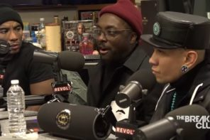 The Black Eyed Peas Stop by Breakfast Club: Promise A Conscious New Album
