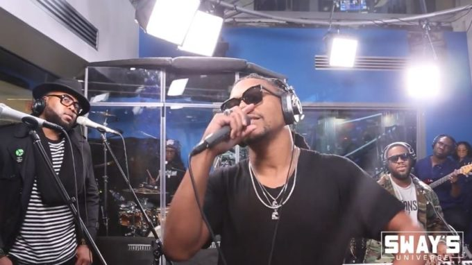 Lupe Fiasco freestyle On 'Sway In The Morning' JAM SESSION