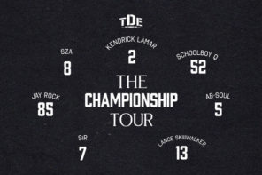 TDE Announces First Ever Full Label 'The Championship' Tour