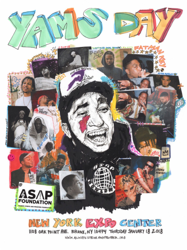 Asap Mob Announce Yams Day 2018 Lineup Hiphop N More