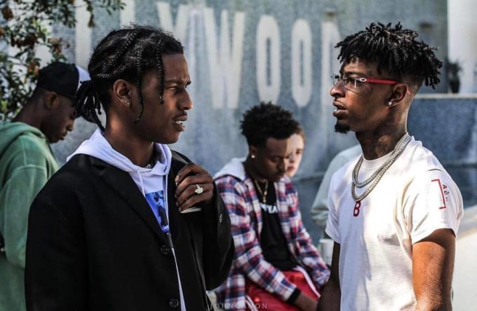ASAP Rocky, Gucci Mane, 21 Savage - Cocky