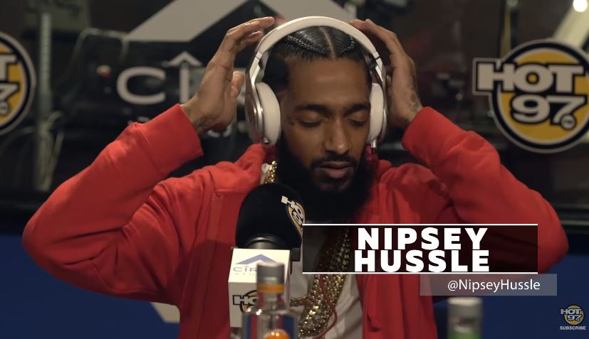 Nipsey Hussle Freestyle FUNK MASTER FLEX [HEAT]