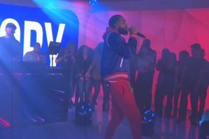 Nipsey Hussle Performs 'Last Time That I Checc'd' on MTV TRL