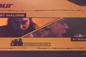 Post Malone Announces NA Tour With 21 Savage & SOB X RBE