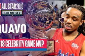 Quavo Talks Winning MVP at 2018 NBA All-Star Celebrity Game