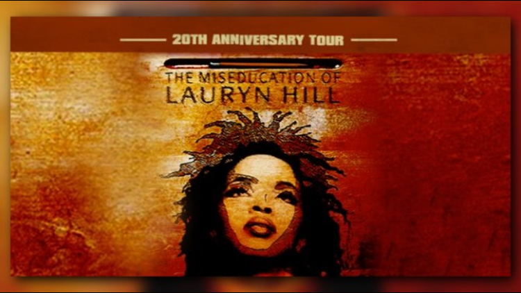 Ms. Lauryn Hill Will Return to Red Rocks