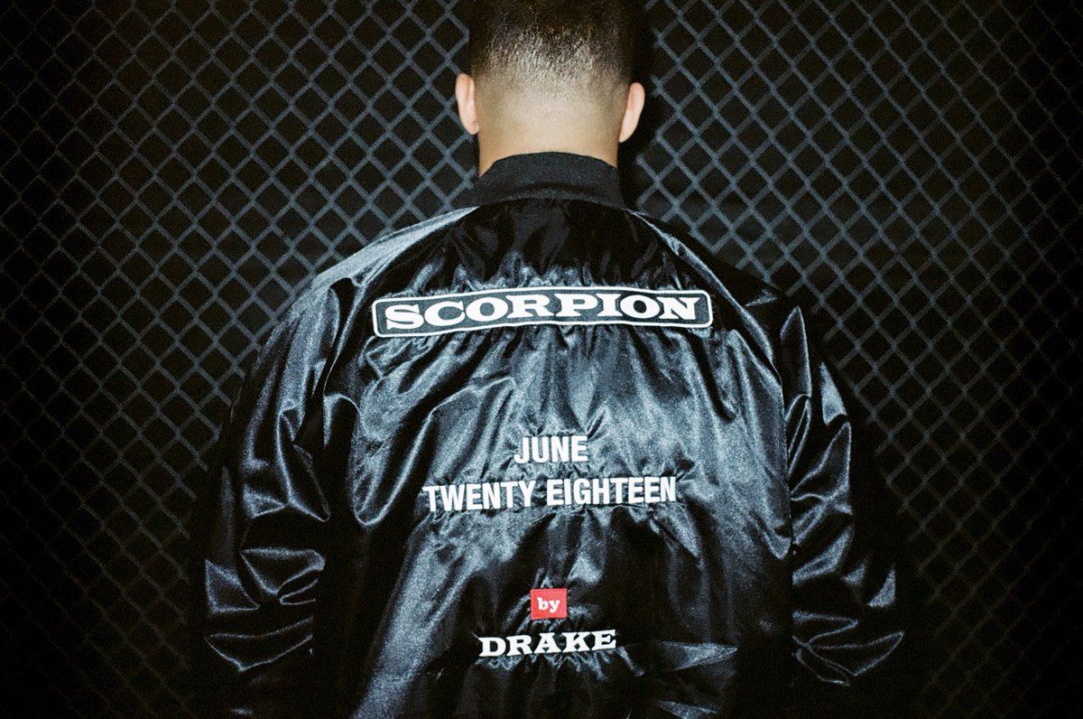 Drake confirms new album Scorpion will be released in June 2018