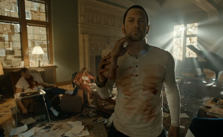 Eminem releases insanely gruesome music video for 'Framed'