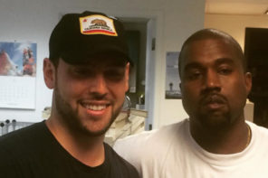 Kanye West Reportedly Parts Ways with Manager Scooter Braun
