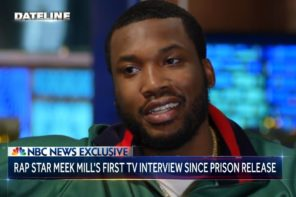 Watch Meek Mill's First Post-Bail Interview with NBC Nightly News