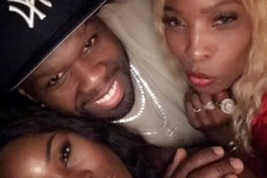 50 Cent Parties with Rick Ross' Baby Mama in Miami (Video)